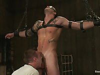 BoundGods : Cliff Jensen bound and beaten for the first time