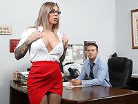 Big Tit Office Chicks #06!!!