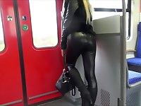 I suck a guy's dong in a bus in my amateur pov video