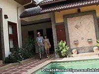 Thai Fuckdoll Nuch snatch pounding