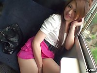 Lustful Asian chick Saori Ono gives a blowjob and gets laid at the pond