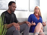 nothing is better for horny black dude than Alura Jenson's wet pussy