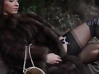 Julie Skyhigh fur fetish part2
