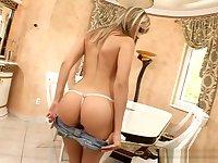 Blue Angel Perfect Ass Teen Blonde PAWG