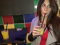 Full natural Hungarian bitch Ayda Swinger goes wild on hard penis