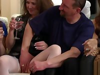 Shy mature couple will get into the business soon