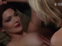 Attractive hot lady Naomi Watts in kinda steamy lesbian erotic video