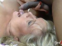 AgedLovE Interracial Mature Hardcore Sex