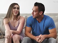 Lexi Lovell and Johnny Castle give an interview and enjoy crazy sex