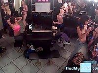 Cam from strip club dressing room