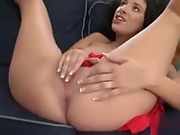 Nasty Model Spreads Her Pussy And Enjoys Hardcore Sex